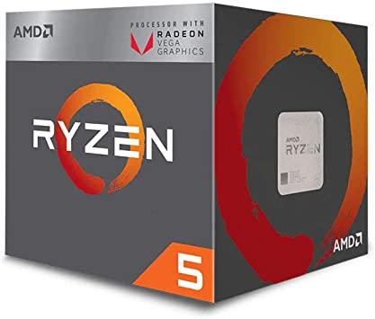 AMD Ryzen 5 3400G retail box