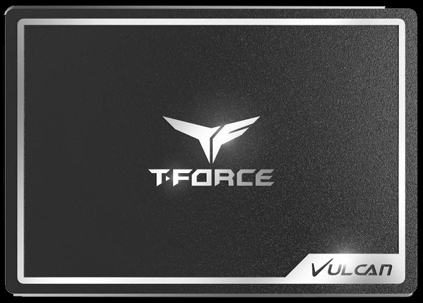 TeamGroup T-Force Vulcan 500GB SSD shown up close