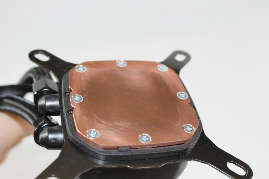 Corsair H115i Platinum cold plate