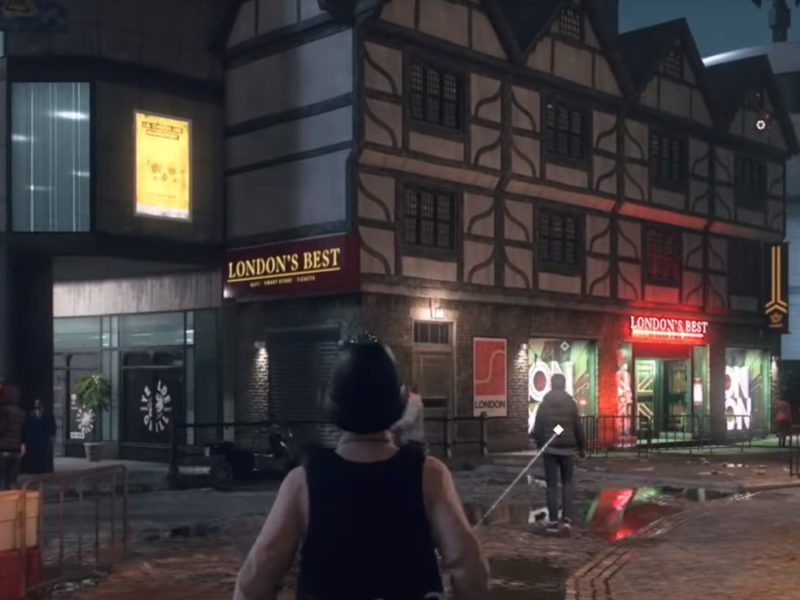 Watchdogs Legion Streetview