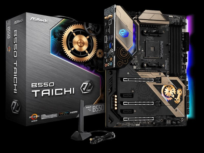 ASRock B550 Taichi Motherboard Featured Image