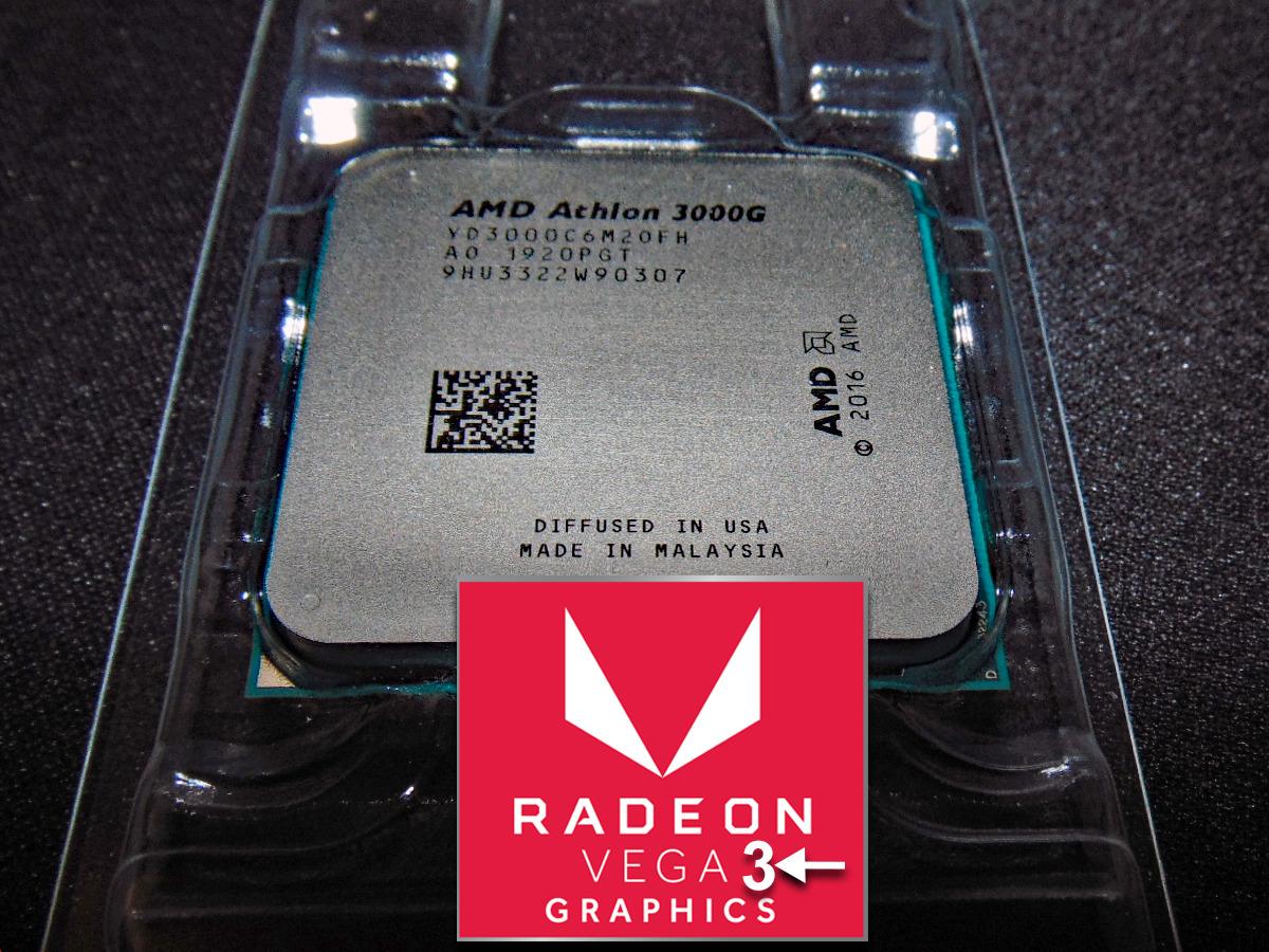 AMD Athlon 3000G Vega 3 APU Game Performance Featured Image
