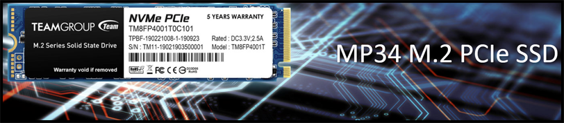 TEAMGROUP MP34 512GB PCIe NVMe M.2 SSD Review Banner