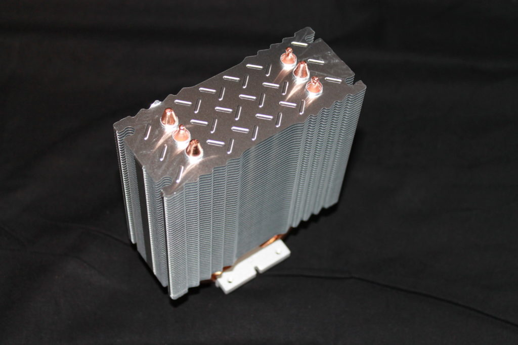 SilverStone AR01 V3 Air Cooler Heatsink and Heatpipes