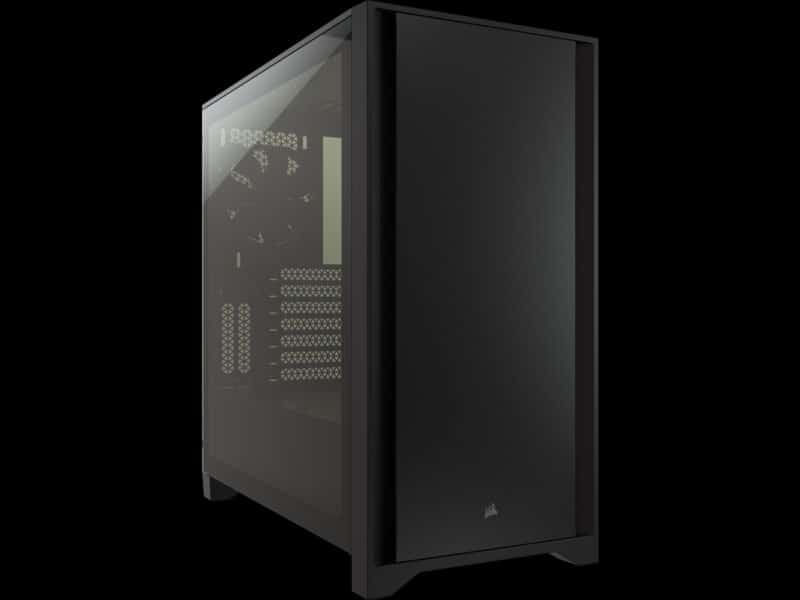 corsair 4000d tempered glass