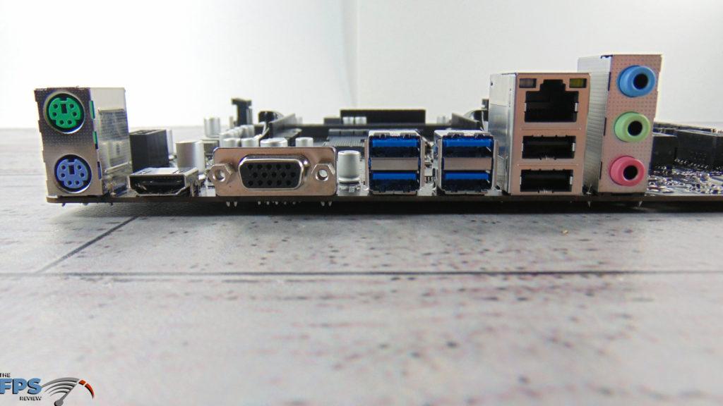 BIOSTAR B550MH Motherboard I/O Ports