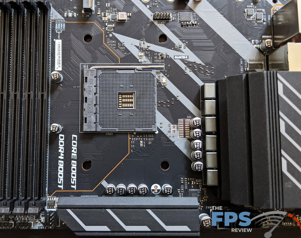 MSI X570-A PRO Motherboard VRMs