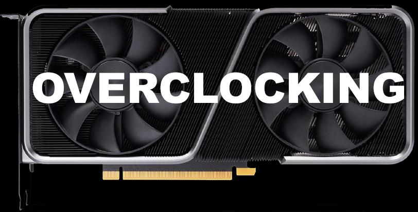 NVIDIA GeForce RTX 3070 FE Overclocking Logo Video Card with Overclocking Logo