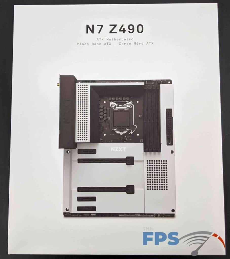 NZXT N7 Z490 Motherboard Box