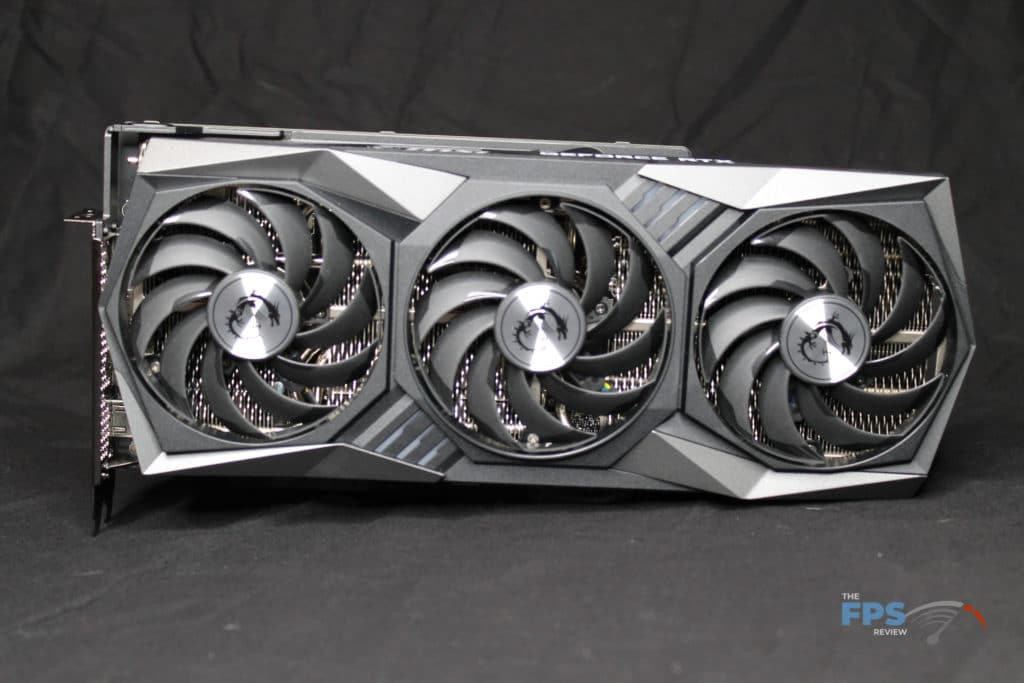 MSI GeForce RTX 3070 GAMING X TRIO Front View