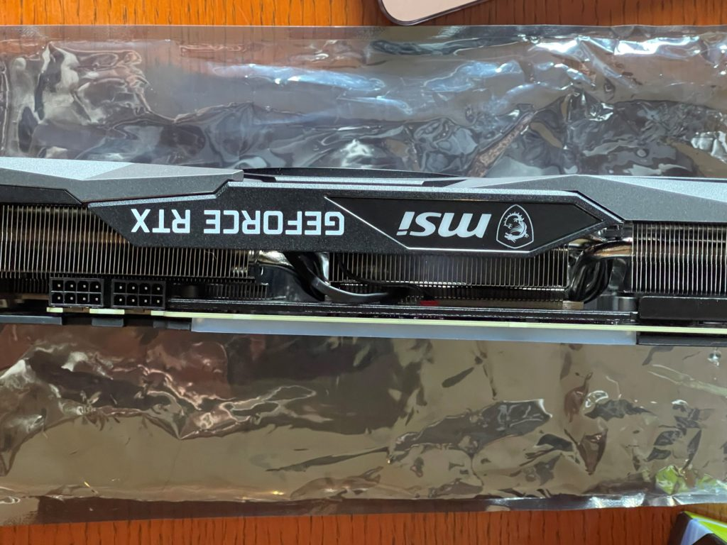 MSI GeForce RTX 3060 Ti GAMING X TRIO Video Card PCI-Express Power Connectors 8-pin