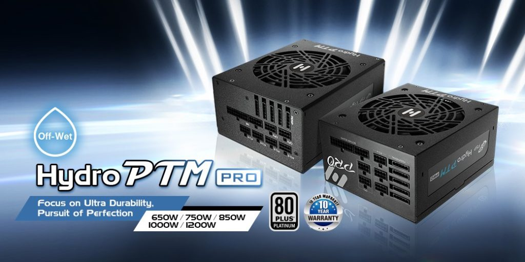 FSP Hydro PTM PRO 1200W Power Supply Product Marketing Picture