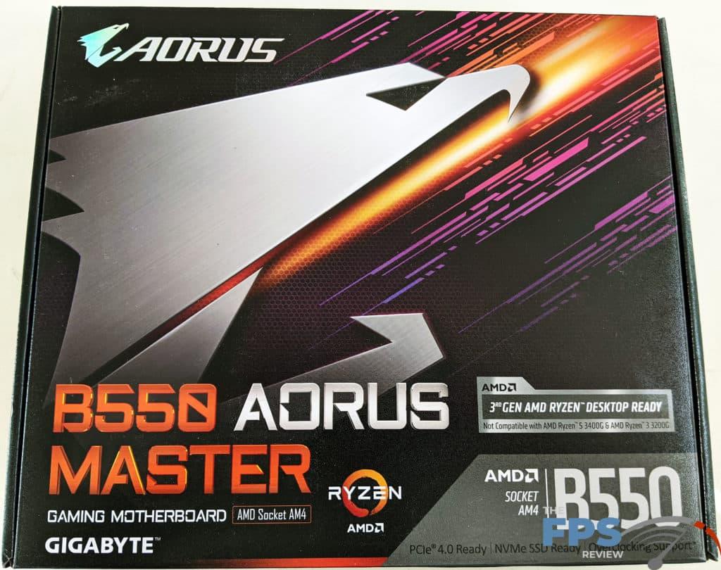 GIGABYTE B550 Aorus Master Box Front