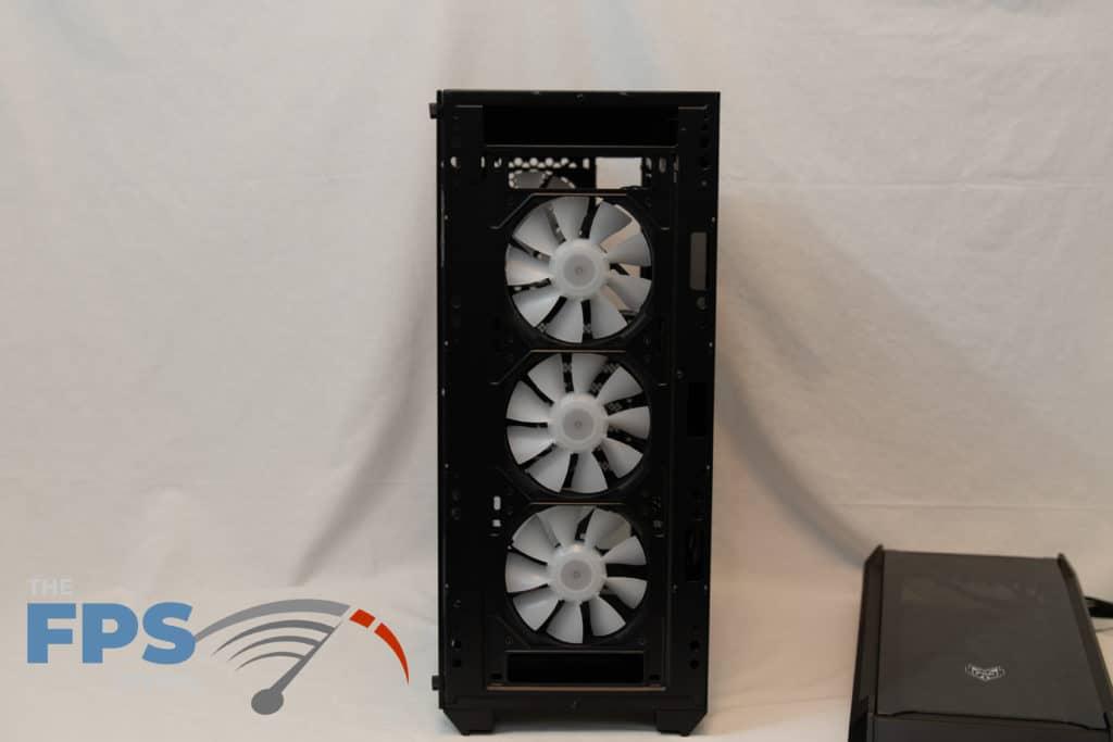 fsp cmt520 plus front panel removed view 3 case fans