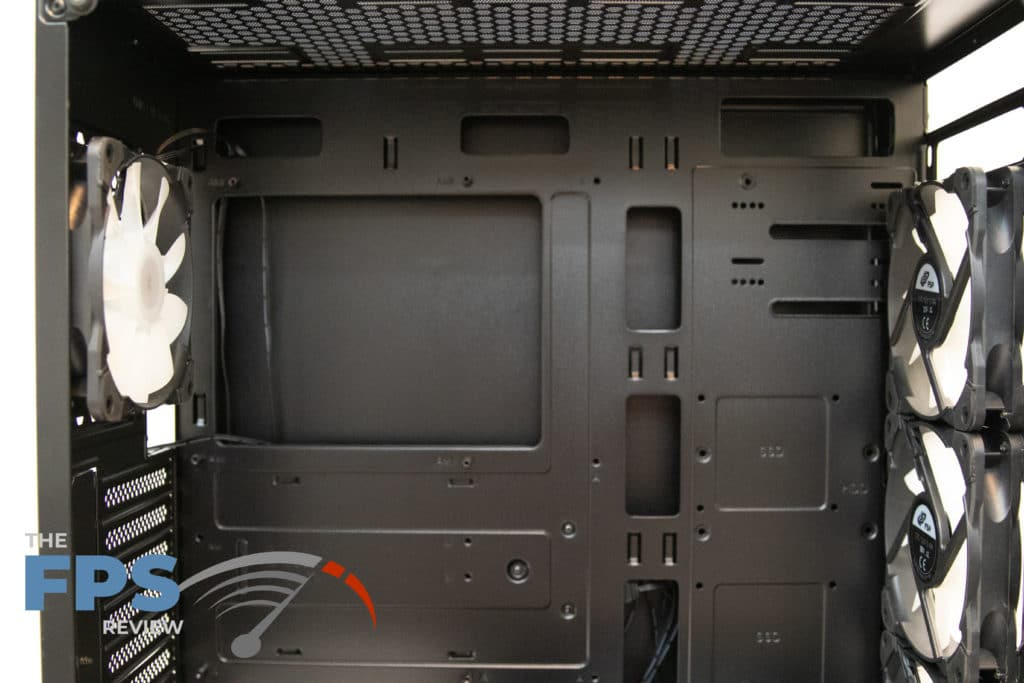 fsp cmt520 plus motherboard tray view