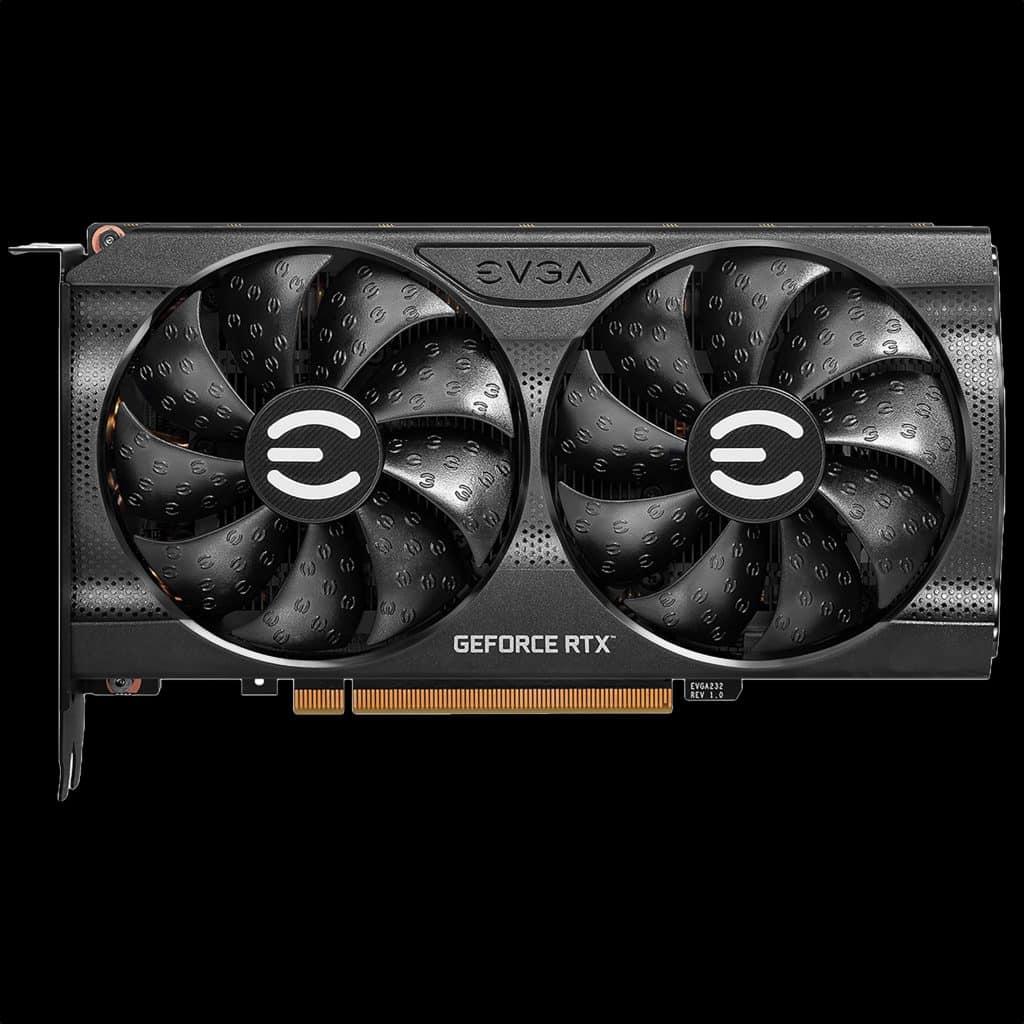 EVGA GeForce RTX 3060 Ti XC GAMING Product Photo