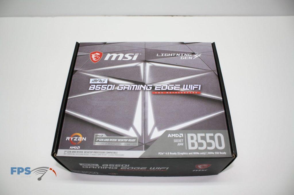 MSI B550I BOX TOP