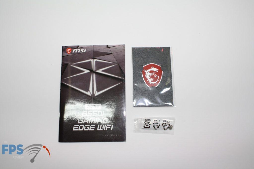 MSI B550I contents 3