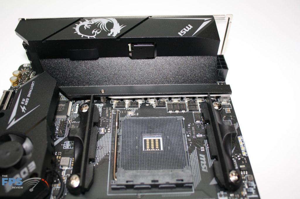 MSI B550I socket