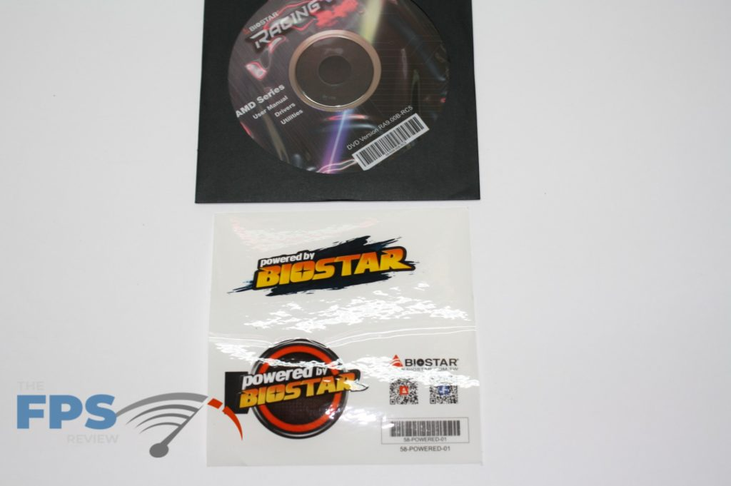 racing disk and sticker