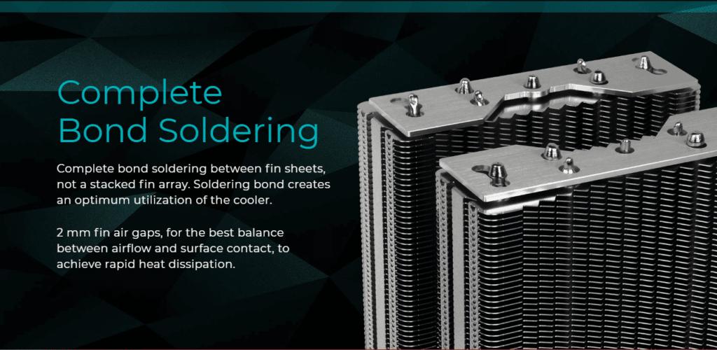 Iceberg Thermal IceSLEET X7 Dual bond soldering graphic
