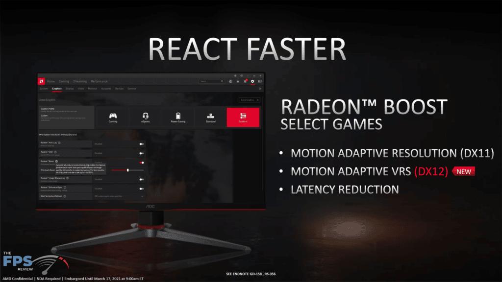 AMD Radeon RX 6700 XT Video Card Review Radeon Boost