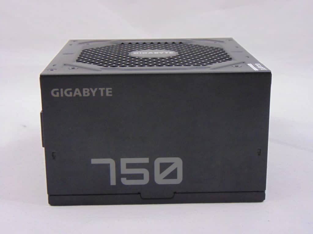 GIGABYTE P750GM 750W Power Supply Side View