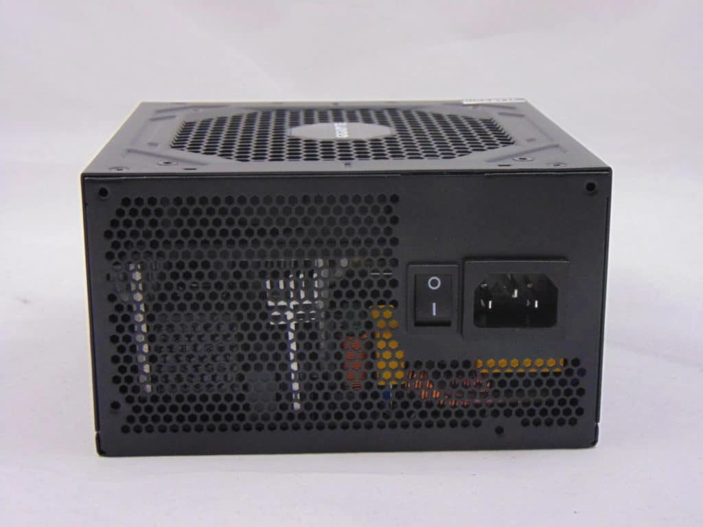GIGABYTE P750GM 750W Power Supply Back View