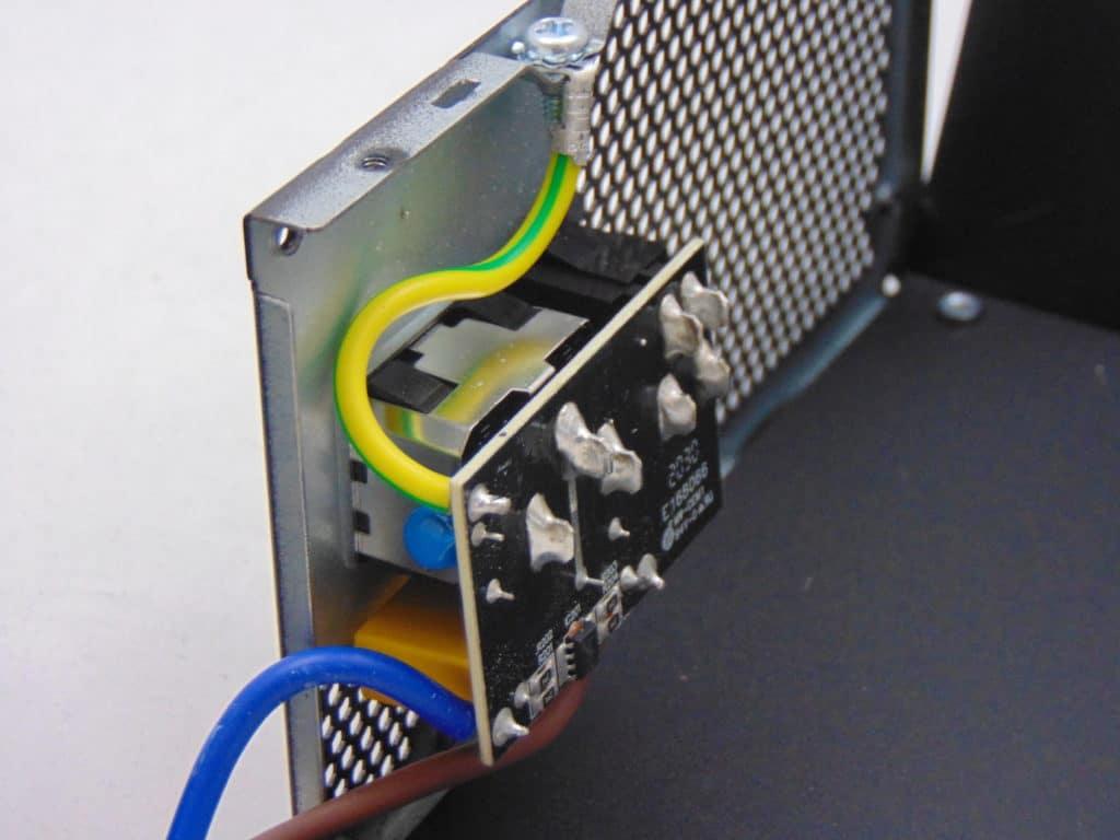 GIGABYTE P750GM 750W Power Supply Inside Power Connector