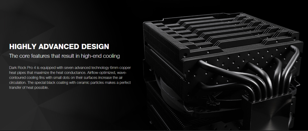 Dark Rock Pro 4 Design Features