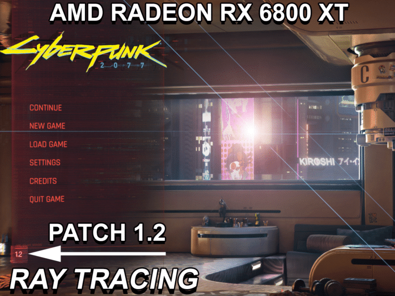 Cyberpunk 2077 Radeon RX 6800 XT Ray Tracing Performance Featured Image