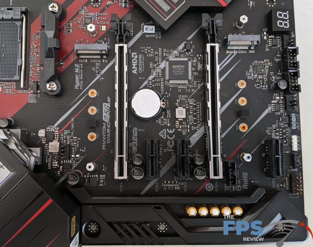 ASRock X570 PG Velocita Motherboard PCI Express Slots
