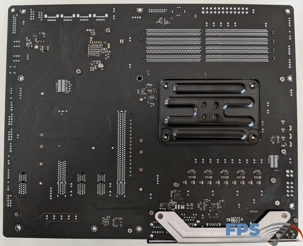 ASRock X570 PG Velocita Motherboard Back of Motherboard