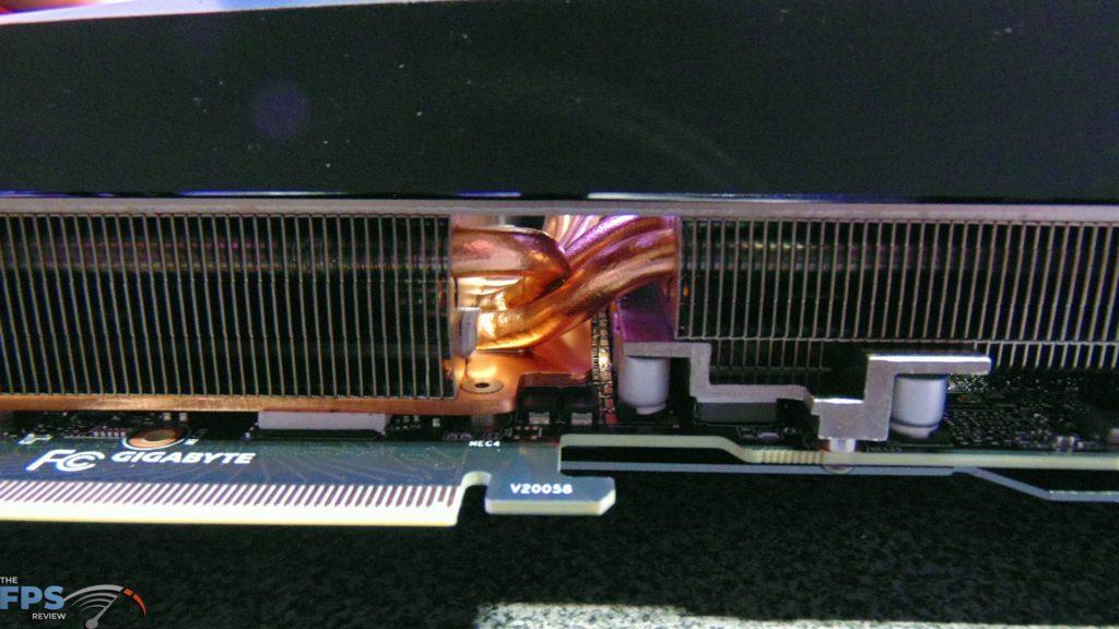 GIGABYTE GeForce RTX 3090 GAMING OC Heatpipes and Heatplate and Heatsink