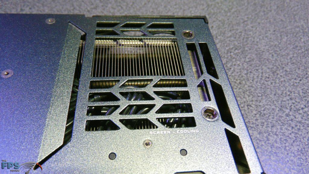 GIGABYTE GeForce RTX 3090 GAMING OC Screen Cooling