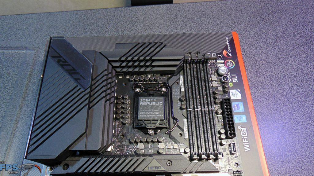 ASUS ROG MAXIMUS XIII HERO Z590 motherboard