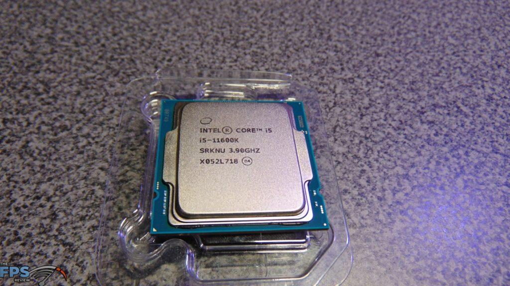 Intel Core i5-11600K CPU Top