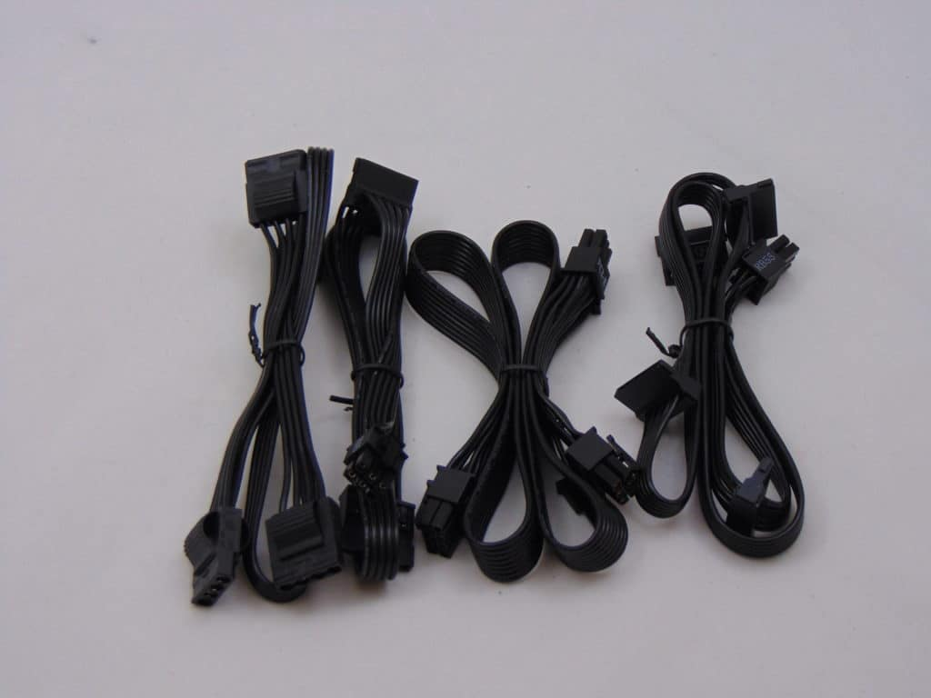 Seasonic FOCUS GM-650 650W Power Supply Cables
