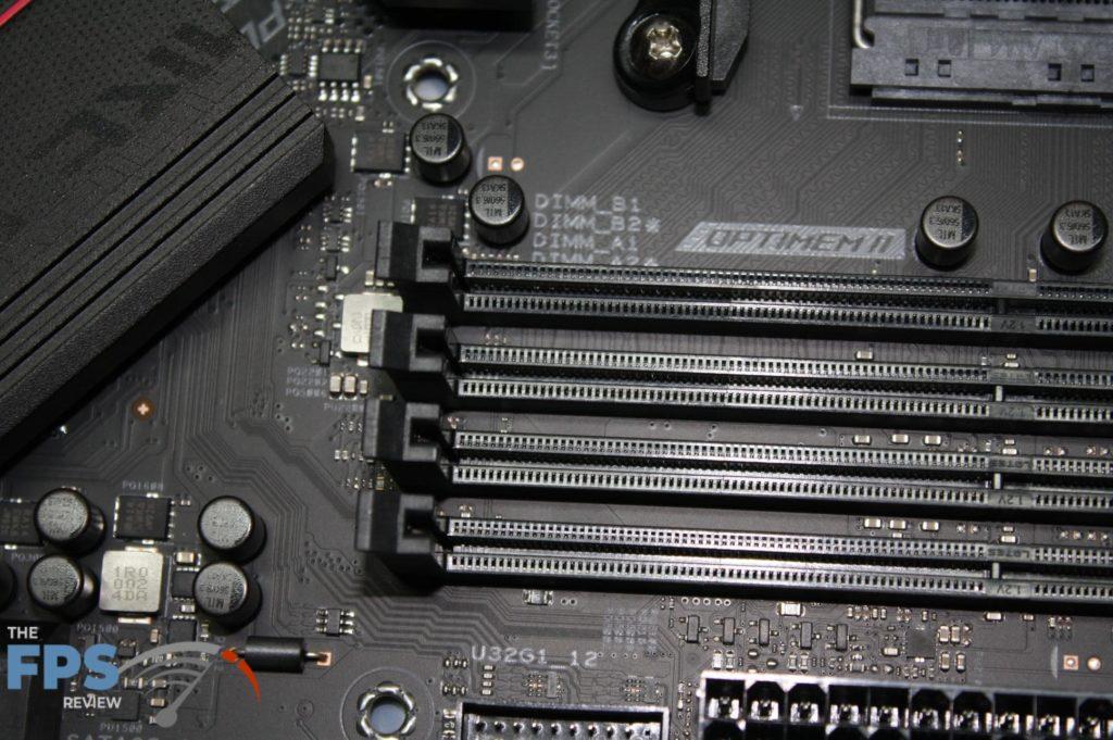 Asus Rog Strix B550-F memory