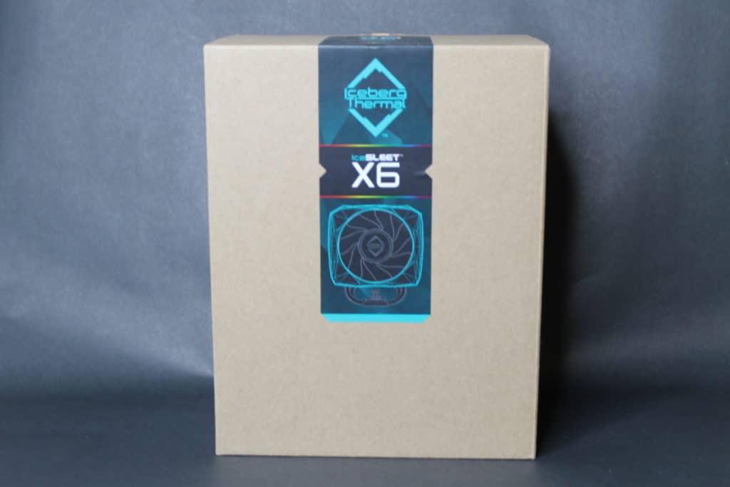 Iceberg Thermal IceSleet X6 Box Front