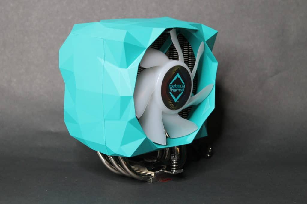 Iceberg Thermal IceSleet X6 assembled front angle view