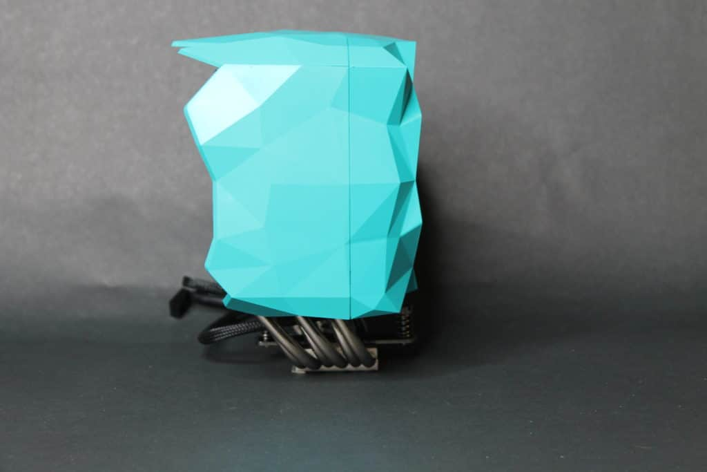 Iceberg Thermal IceSleet X6 assembled side view