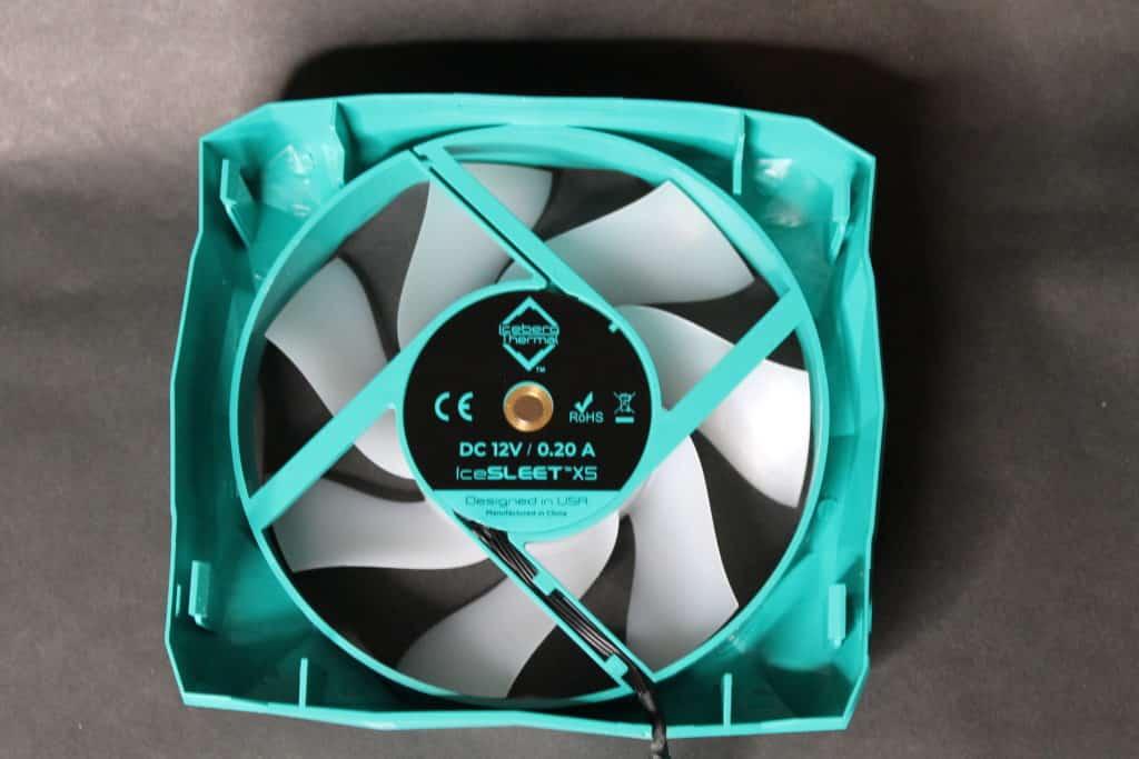 IceSLEET X5 Fan Label