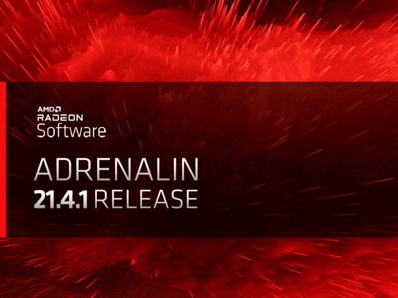 AMD Radeon Software Adrenalin 21.4.1 Release Featured Image