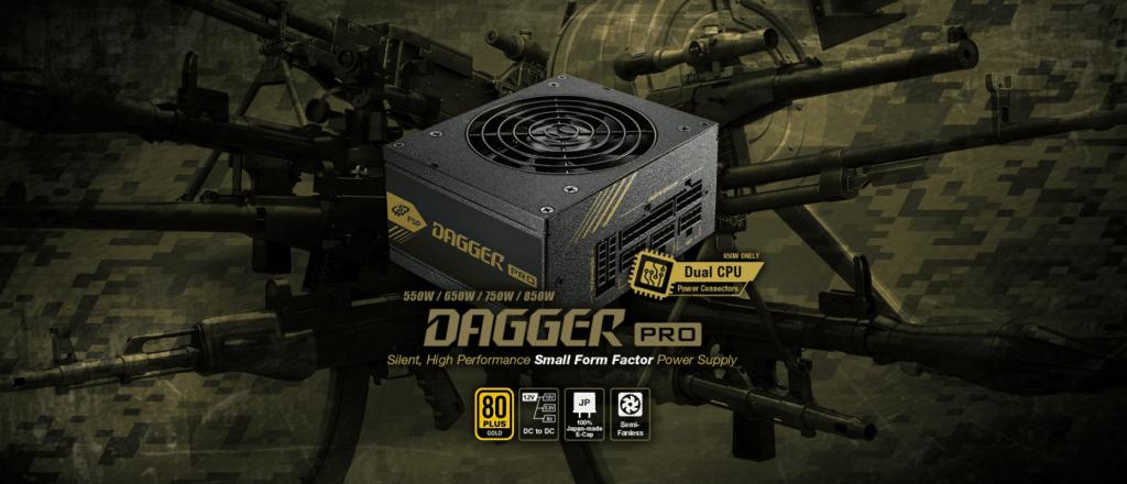 FSP DAGGER PRO 550W SFX Power Supply Product Banner