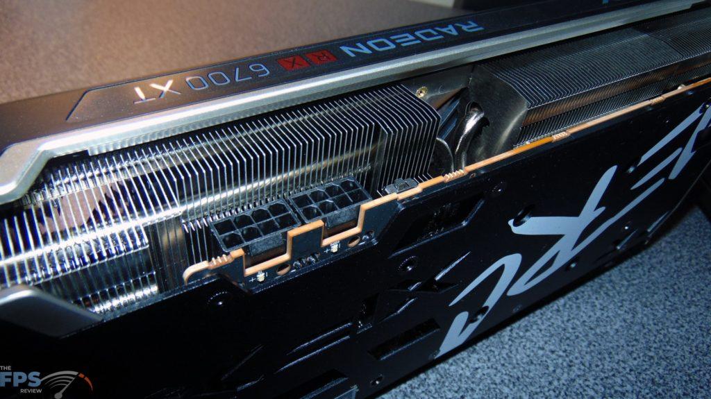 XFX SPEEDSTER MERC 319 BLACK AMD Radeon RX 6700 XT pci express power connectors