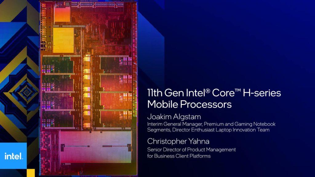 11th Gen Intel Core H-series Mobile Processors Presentation