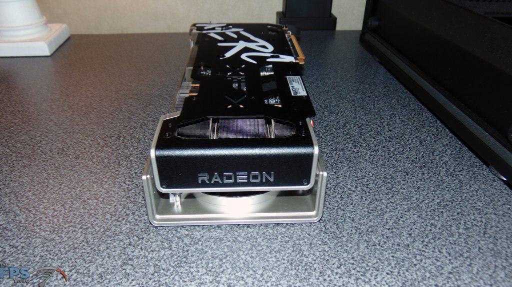 XFX SPEEDSTER MERC 319 BLACK AMD Radeon RX 6700 XT side of video card