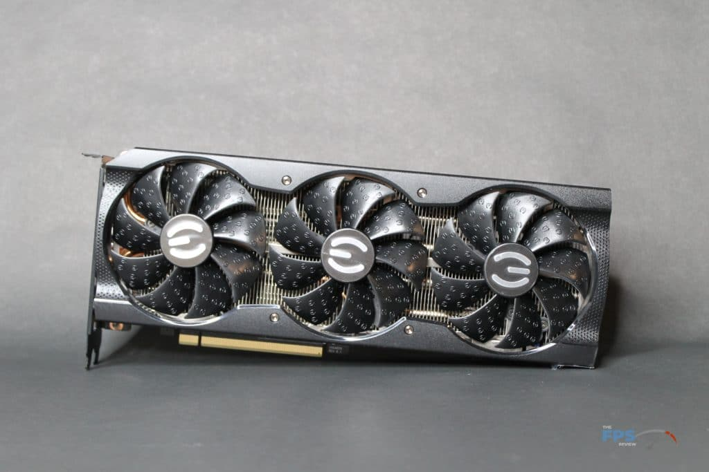 EVGA GeForce RTX 3070 XC3 ULTRA front view