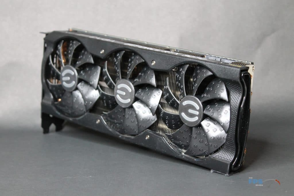 EVGA GeForce RTX 3070 XC3 ULTRA front angle view